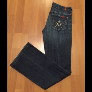 "Like new !7 for all mankind ""A"" pocket jeans"